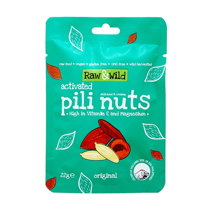 Raw & Wild Original Activated Pili Nuts 22g