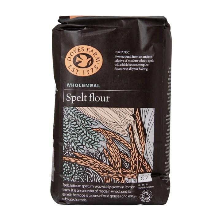 Doves Farm Wholemeal Spelt Flour 1kg