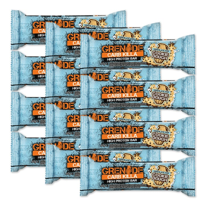 Grenade Carb Killa Bar Cookie Dough 12 x 60g