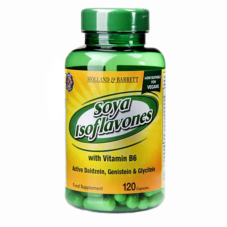Holland & Barrett Soya Isoflavones with Vitamin B6 120 Capsules