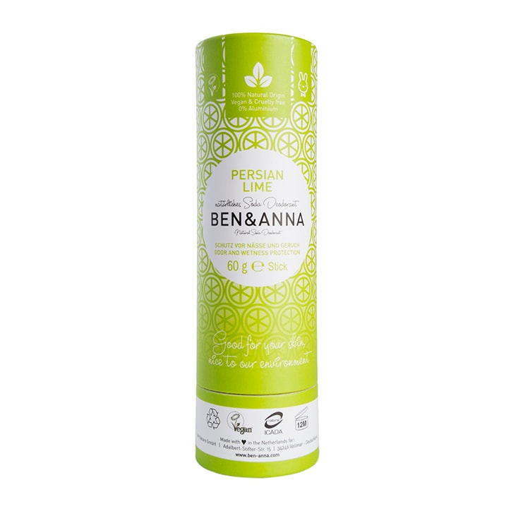 Ben & Anna - Persian Lime Deodorant 60g