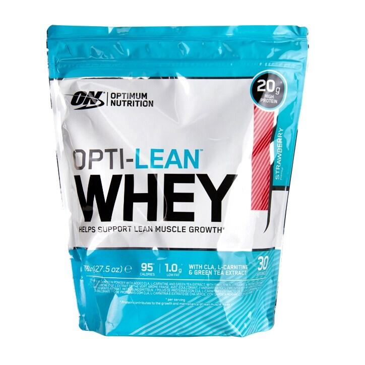 Optimum Nutrition Opti-Lean Whey Powder Strawberry 780g