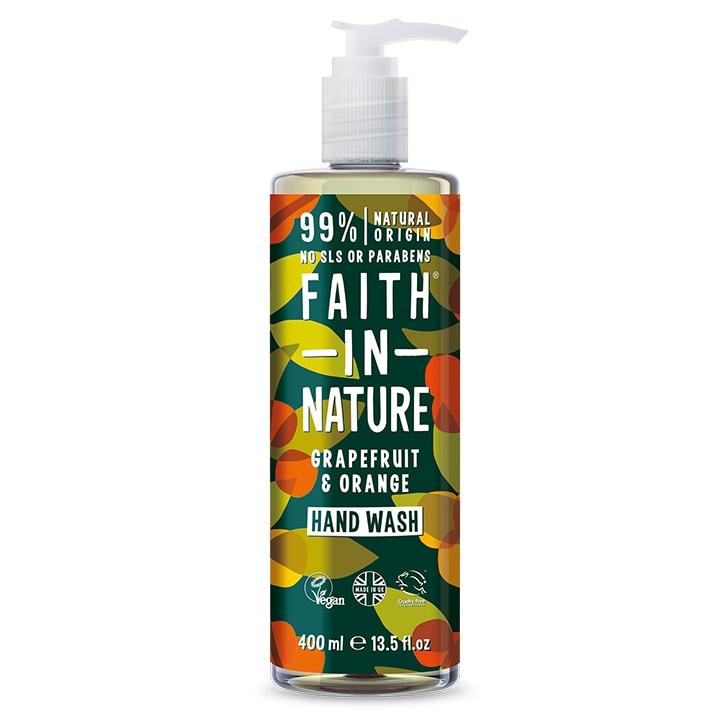 Faith In Nature Grapefruit & Orange Handwash 400ml