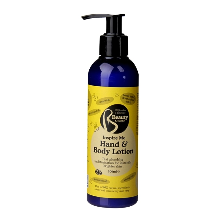 Beauty Kitchen Inspire Me Hand & Body Lotion 200ml