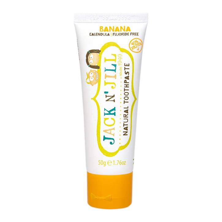 Jack N' Jill Natural Toothpaste Organic Banana 50g