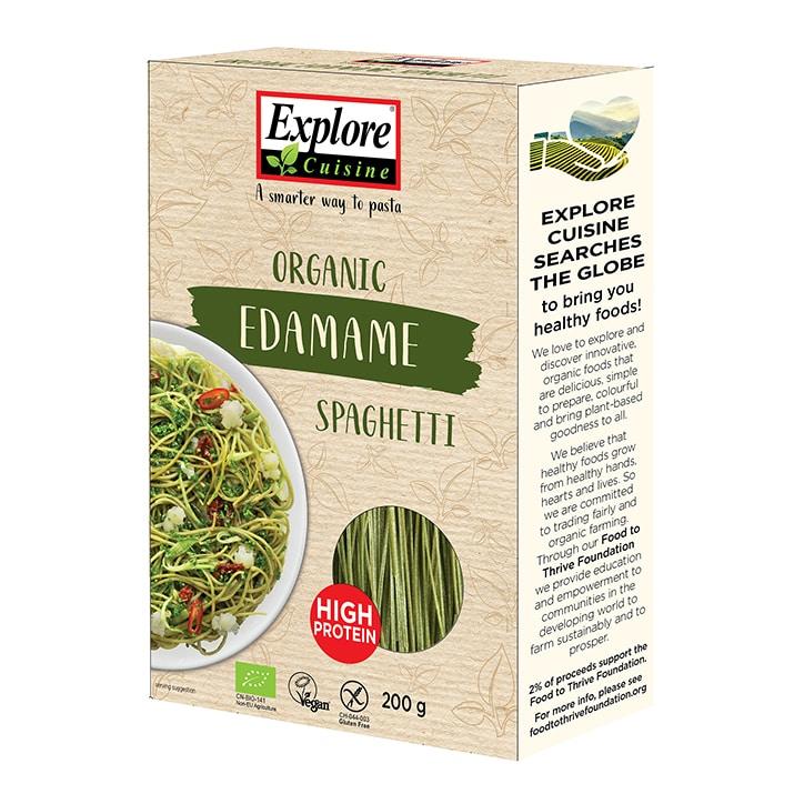 Explore Cuisine Organic Gluten Free Edamame Spaghetti 200g