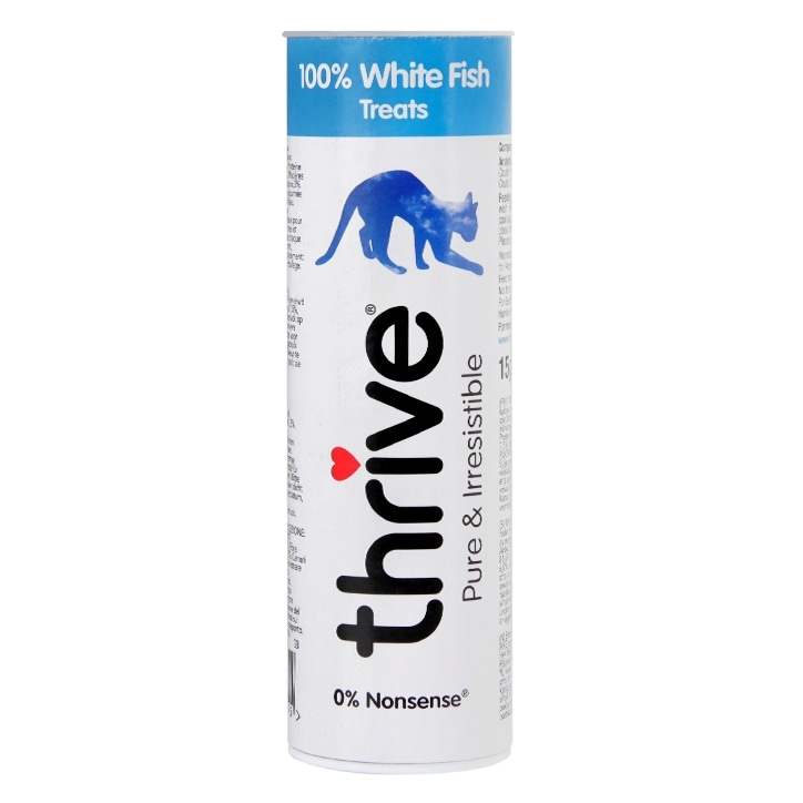 Thrive 100% White Fish Cat Treats 110g
