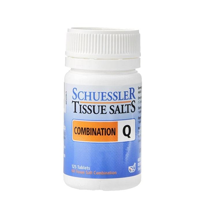 Schuessler Combination Q Tissue Salts 125 Tablets
