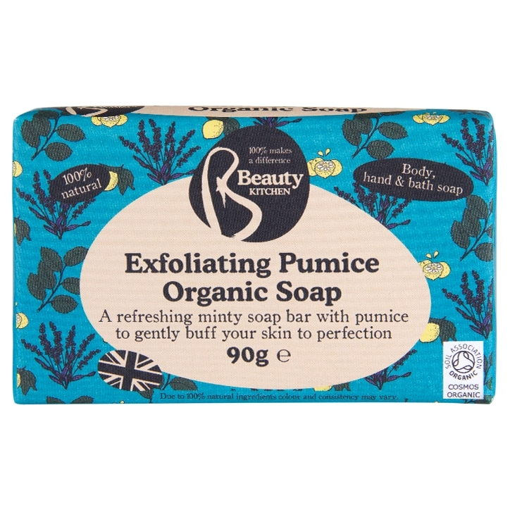 Beauty Kitchen Refresh Me Exfoliating Pumice Natural Soap 90g
