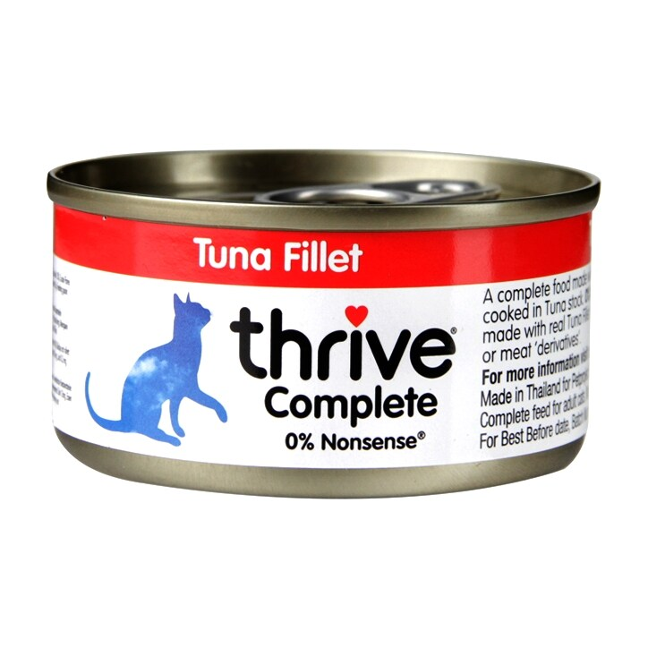 Thrive Complete Tuna Fillet  Cat Food 75g