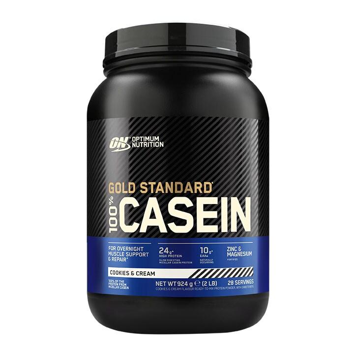 Optimum Nutrition Gold Standard 100% Casein Cookies & Cream 909g