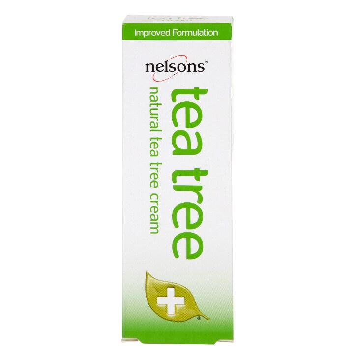 Nelsons Tea Tree Cream Antiseptic 30g