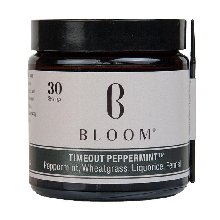 Bloom Timeout Peppermint Tea Powder 30g