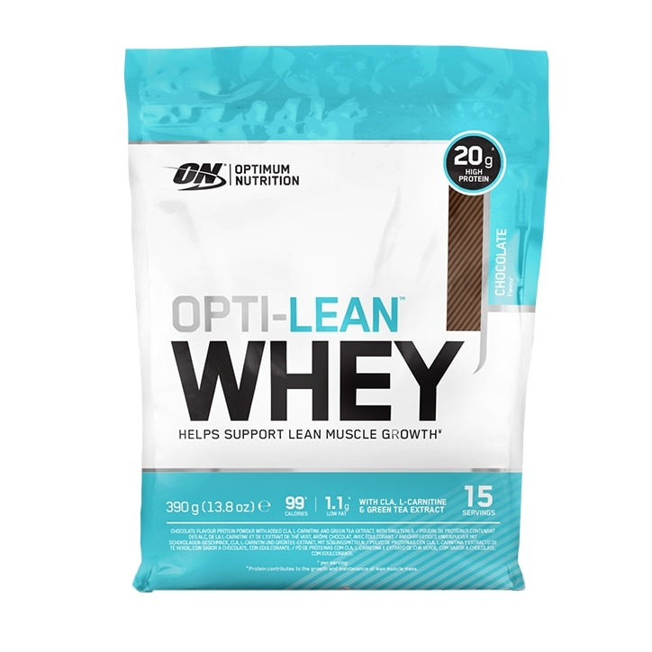 Optimum Nutrition Opti-Lean Whey Powder Chocolate 390g