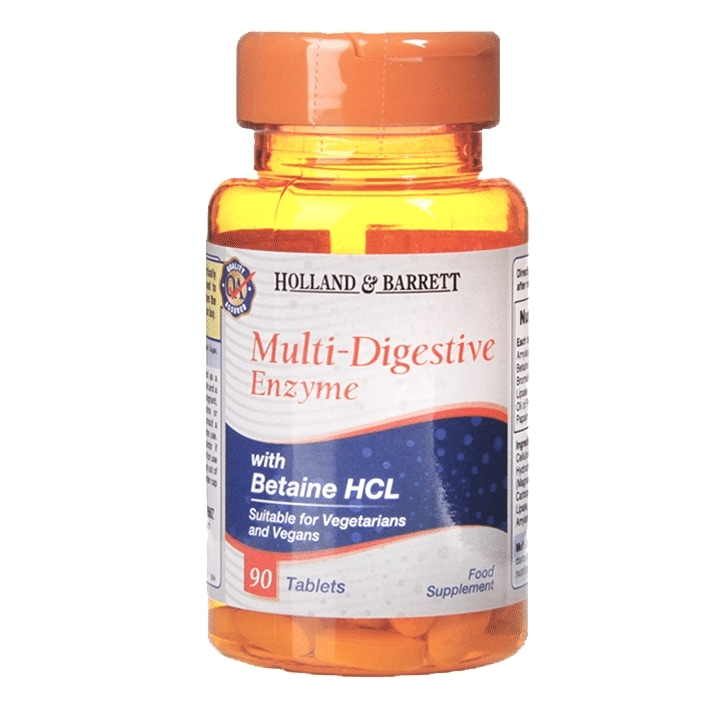 Holland & Barrett MultiDigestive Enzyme 90 Tablets