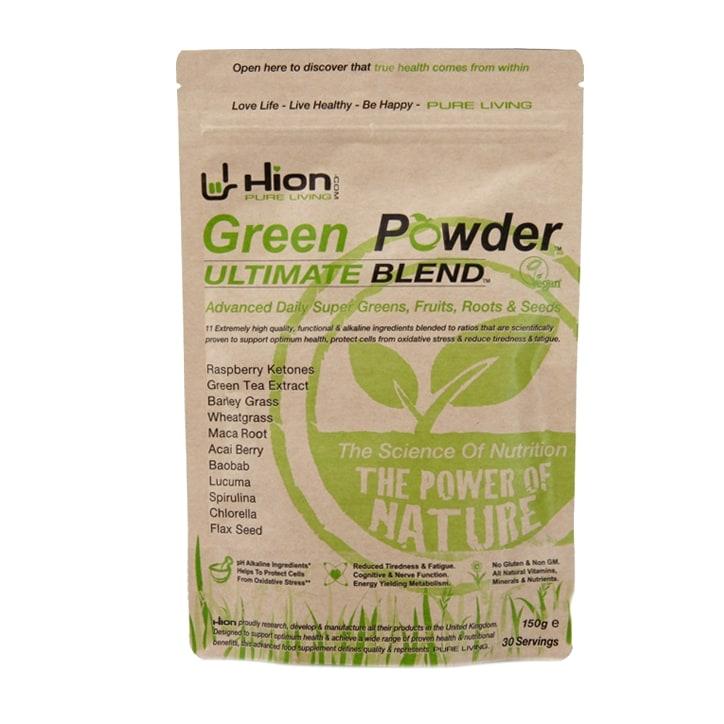 Hion Green Powder Ultimate Blend 150g