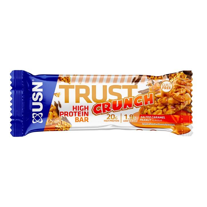 USN Trust Crunch Bar Salted Caramel Peanut 60g