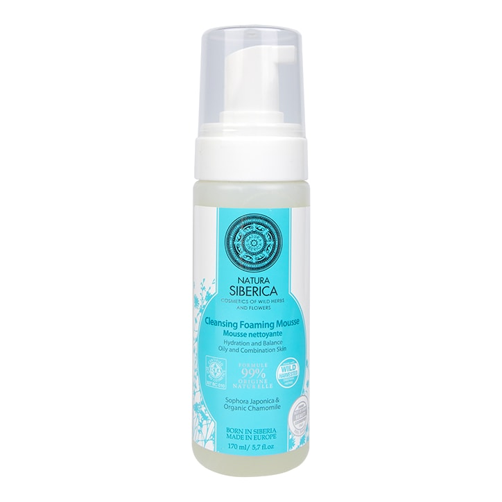 Natura Siberica Cleansing Foaming Mousse 170ml