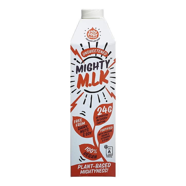 Mighty Pea Unsweetened M.lk 1l