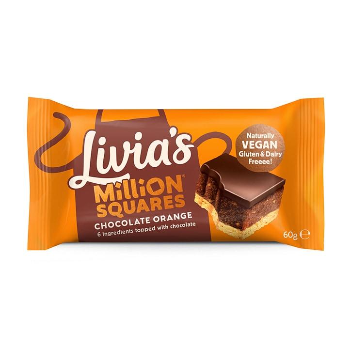 Livia's Kitchen Chocolate Orange Million Squares 60g