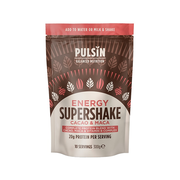 Pulsin Supershake Energy Cacao & Maca 300g