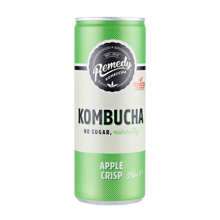 Remedy Apple Crisp Kombucha 250ml