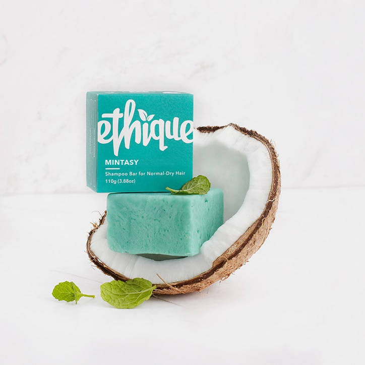 Ethique Mintasy Shampoo Bar For Normal to Dry Hair 110g