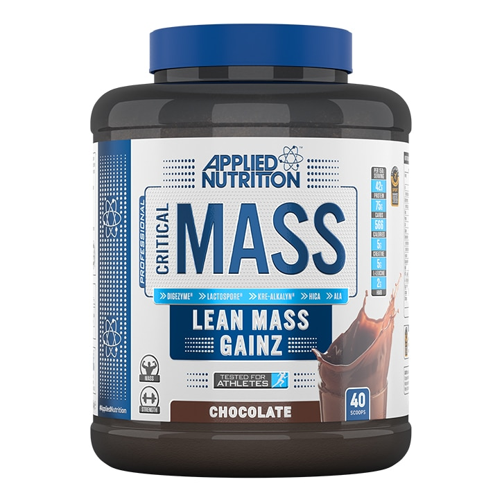 Applied Nutrition Critical Mass Protein Chocolate 2400g
