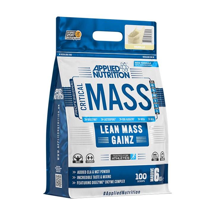 Applied Nutrition Critical Mass Protein Vanilla 6000g