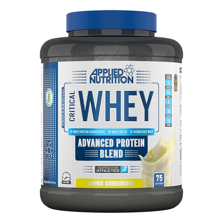 Applied Nutrition Critical Whey Protein Lemon Cheesecake 2270g