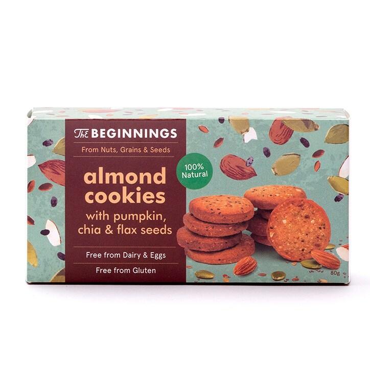 The Beginnings Almond Cookies 80g