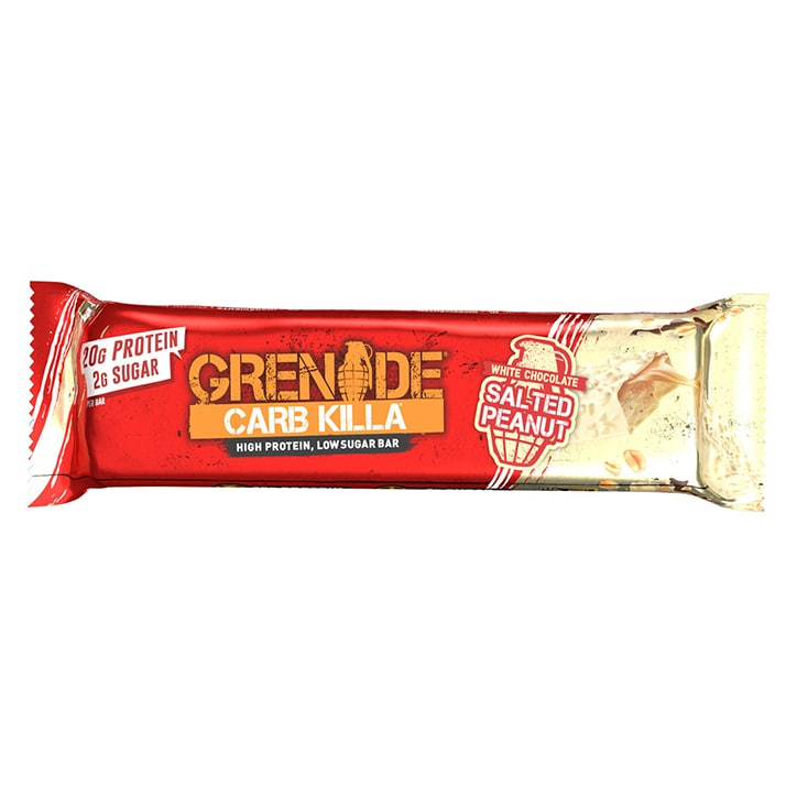 Grenade Carb Killa White Chocolate Salted Peanut 60g