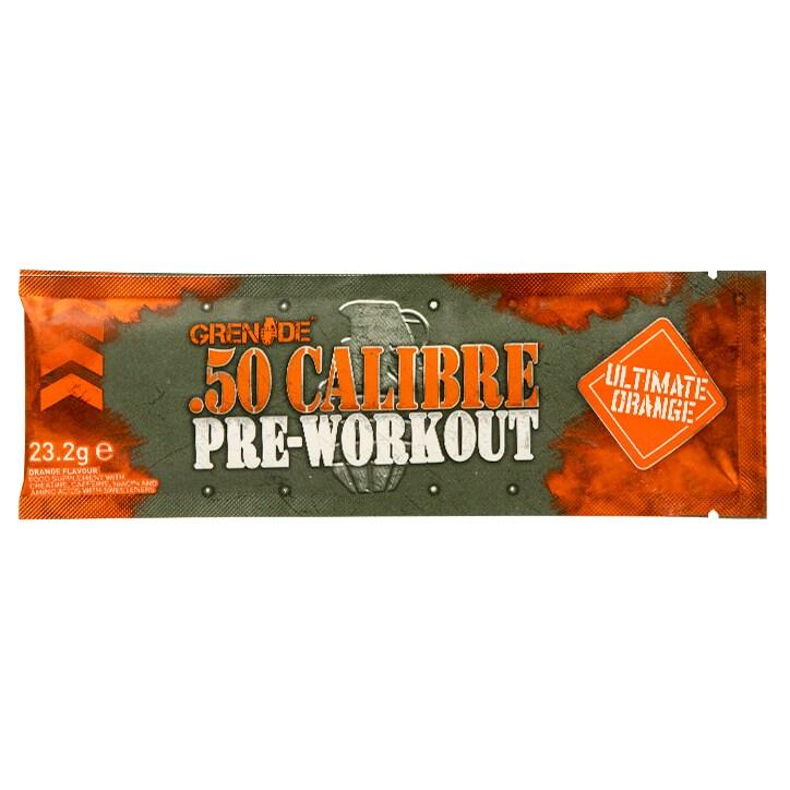 Grenade .50 Calibre Pre-Workout Orange Sachet 23.2g
