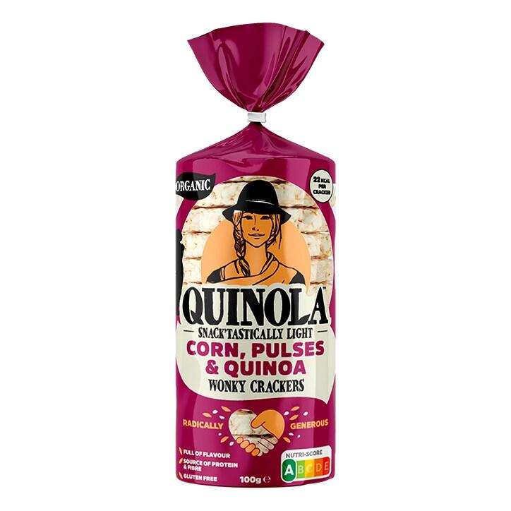 Quinola Organic Pulses & Quinoa Cakes 100g