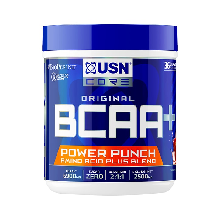 USN BCAA Powerpunch Cherry 400g