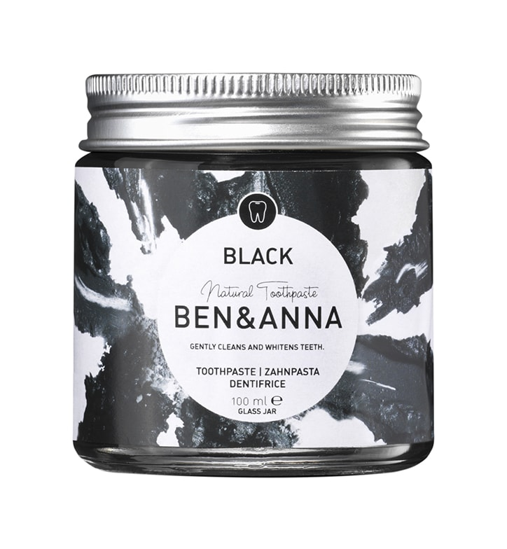 Ben & Anna Toothpaste - Black - Activated Charcoal 100ml