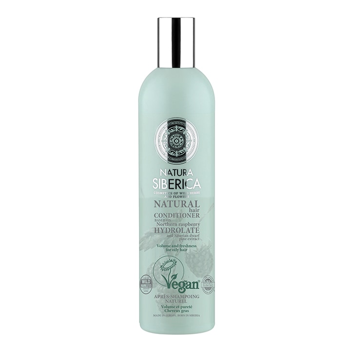 Natura Siberica Hair Conditioner - Volume and Freshness for oily hair