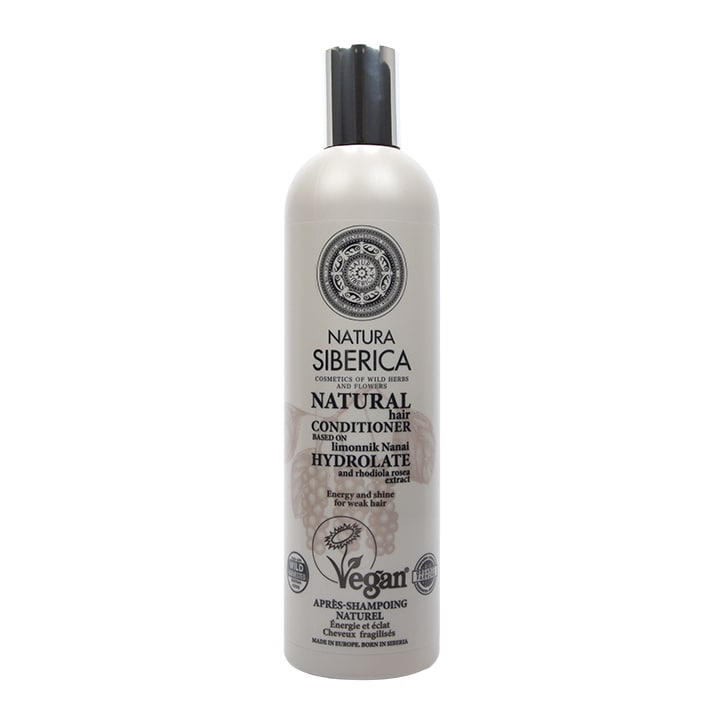 Natura Siberica Hair Conditioner - Energy and Shine for weak hair