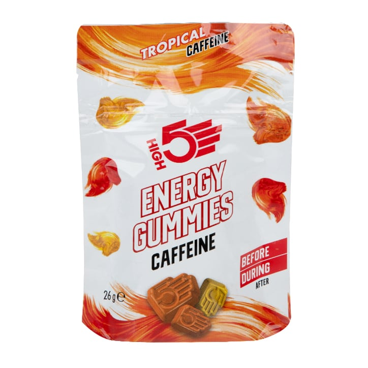 HIGH5 Energy Gummies Caffeine Tropical 26g