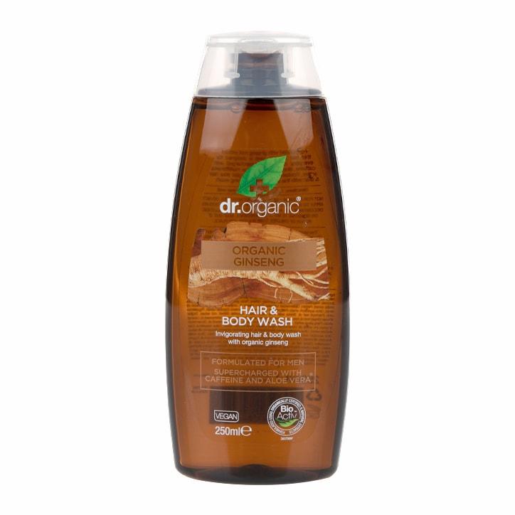 Dr Organic Ginseng Hair & Body Wash 250ml