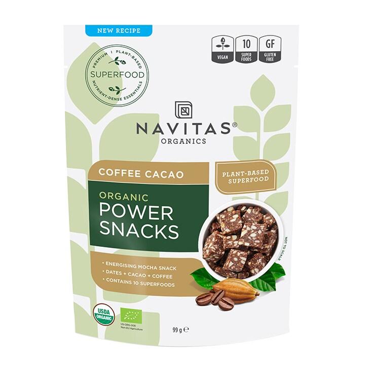 Navitas Power Snacks - Coffee Cacao 99g
