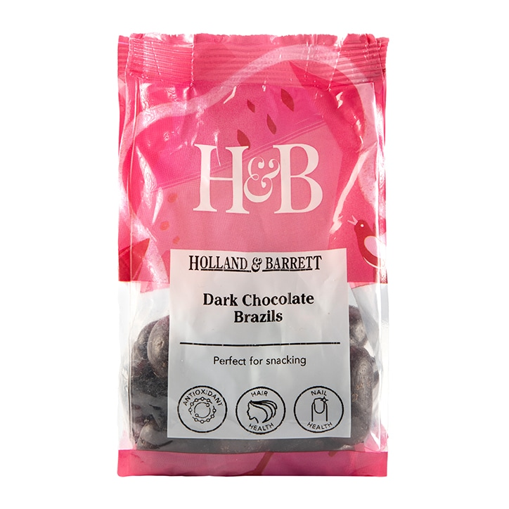 Holland & Barrett Dark Chocolate Brazil Nuts 200g