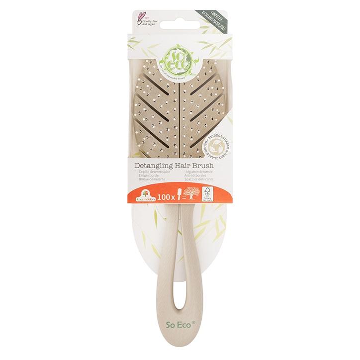So Eco Biodegradable Detangling Hair Brush