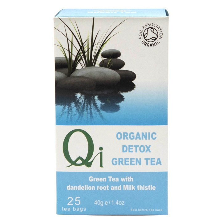 Herbal Health Detox Tea - Organic & Fairtrade 25 Bags
