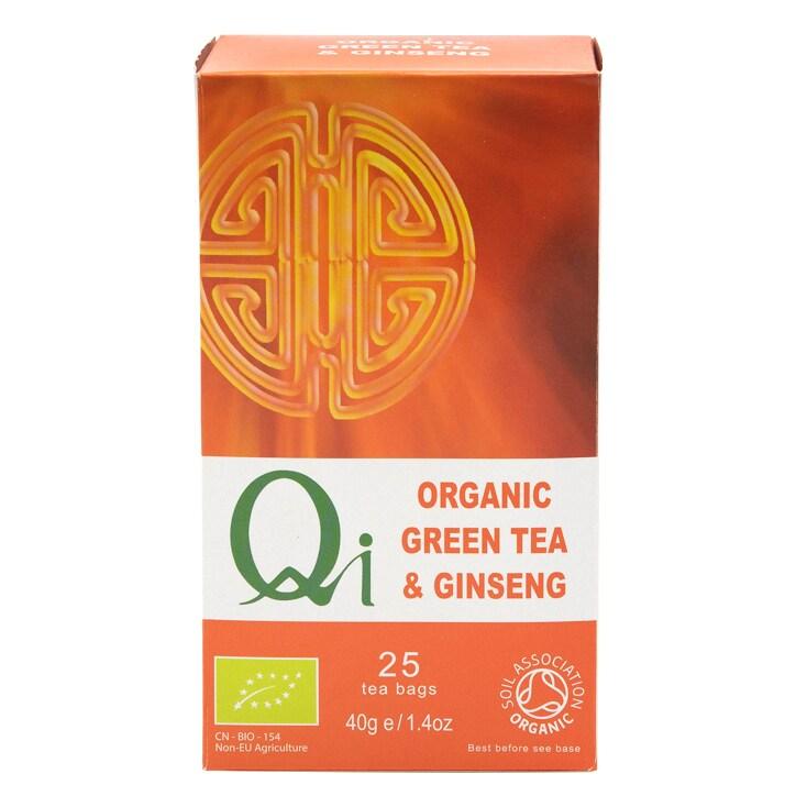 Herbal Health Green Tea & Ginseng - Organic & Fairtrade 25 Bags