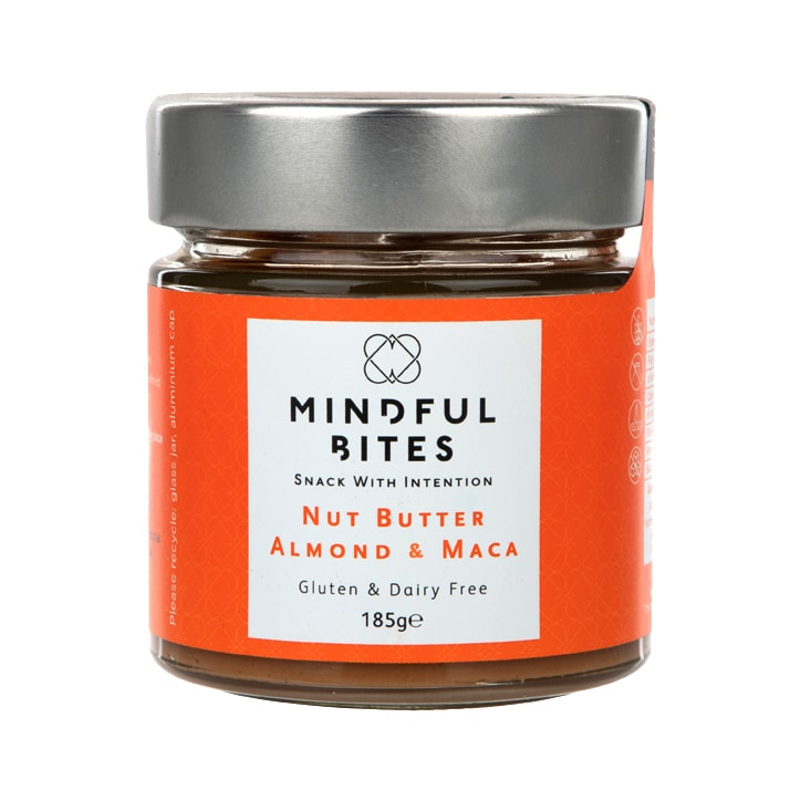 Mindful Bites Nut Butter - Almond & Maca 185g