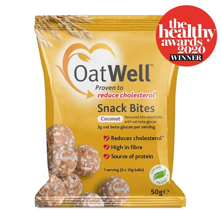 Oatwell Snack Bites Coconut 50g