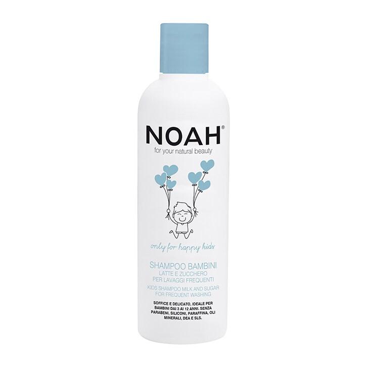 Noah Kids Shampoo - Milk & Sugar for Frequent Washing 250ml