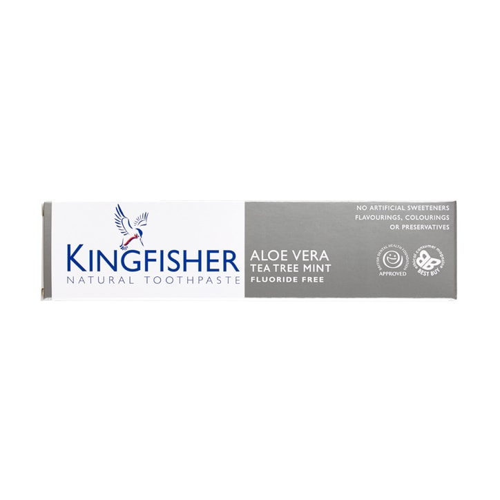 Kingfisher Aloe Vera Tea Tree Mint Toothpaste