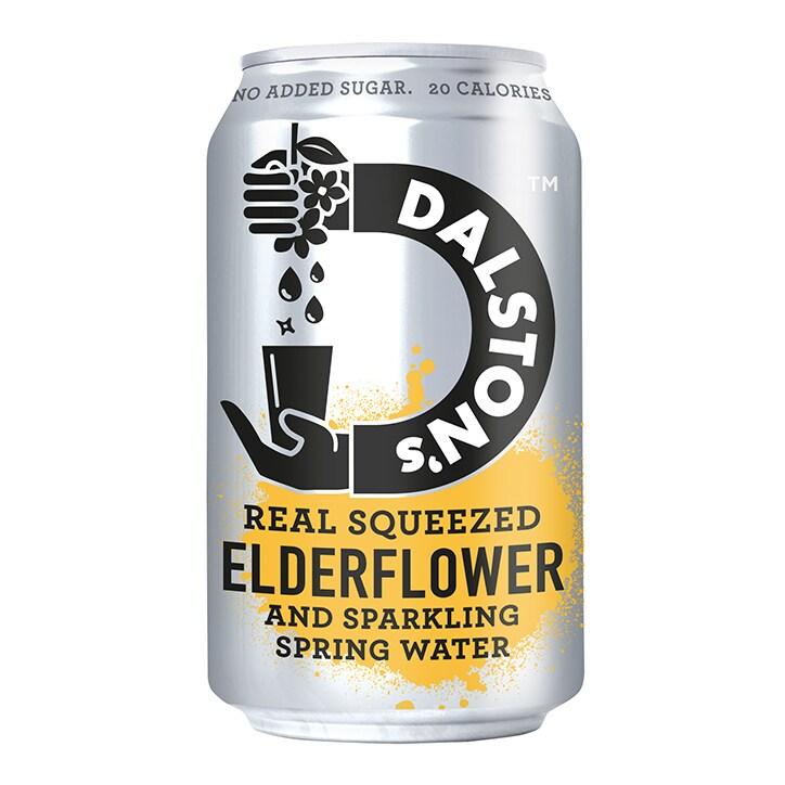 Dalston's Elderflower No Added Sugar Drink 330ml